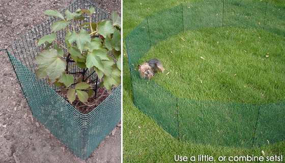Expandable Modular Garden Fence Kit