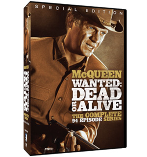 Wanted: Dead or Alive - The Complete 94 Episode Series on DVD starring Steve McQueen - #7362