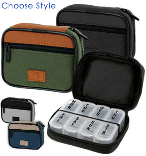 Pill and Vitamin Case by Fashion Smart - #7385
