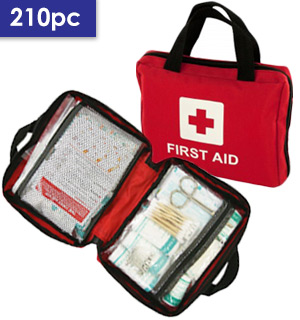 Easy Access Emergency First Aid Pocket Kit for Home, Car or Office - #7406