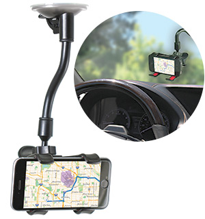 Universal Smartphone Suction Cup Mount