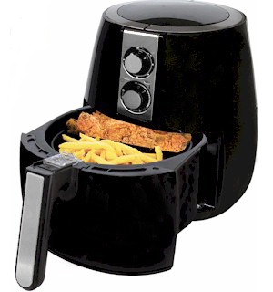 1230 Watt Air Fryer - The Healthy Way to Fry - #7472
