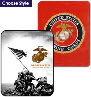 US Marine Corps Historical Blankets - #7479