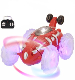 RC Stunt Car with LED Light Effects