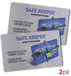 Safe Keeper RFID Anti-Theft Cards - #7492