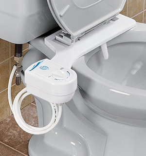 Toilet Bidet Attachment by IdeaWorks - PulseTV