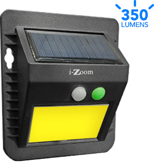Solar-Powered Outdoor Security Light - #7507