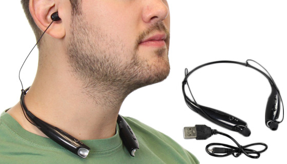 FLEX Behind The Neck Wireless Headset with Microphone - NEW LOW PRICE