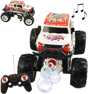 The RC Bubble Car with 360 Degree Spinning Action - #7587