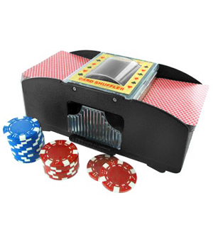 Automatic 2-Deck Card Shuffler - #7608