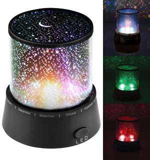 Mini Star Nightlight with Color Changing LEDs - #7622