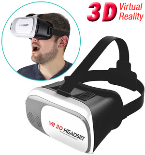 Virtual Reality 3D Headset for Smartphones - #7623