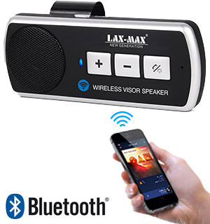Bluetooth Car Visor Speaker for Hands-Free Calls - #7625
