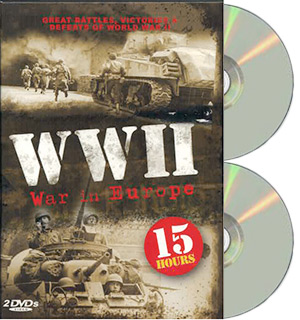 WWII: War in Europe Documentary Collection on DVD - #7634