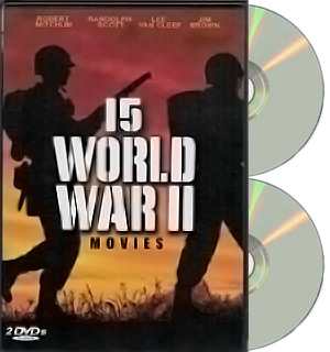 15 World War II Movies - 2 Disc DVD Collection - #7635