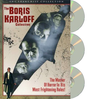 The Boris Karloff Collection - 3 DVD Set - #7643