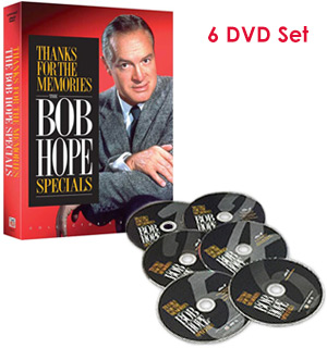 Thanks for the Memories: The Bob Hope Specials on DVD - #7656