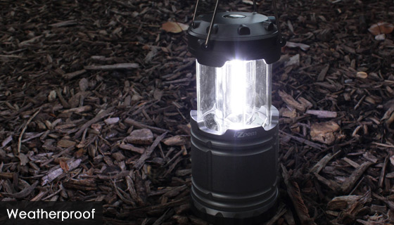 SWAT Tactical Collapsible Lantern - Brightness You Can See A Mile Away
