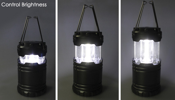 - Bell Howell Taclight Lantern Portable Led Collapsible Camping & Sunny black