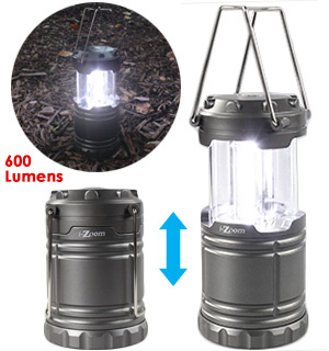 SWAT Tactical Collapsible Lantern - Brightness You Can See A Mile… - #7658