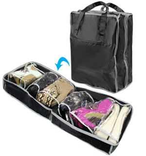 Folding Shoe Storage and Tote - #7678