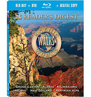 Reader's Digest: Scenic Walks Around The World Blu-Ray + DVD Combo Pack - #7683A