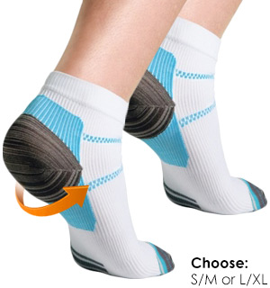 Milano Unisex Compression Socks for Plantar Fasciitis