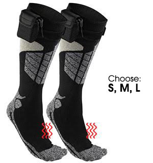 Battery Operated Heated Calf Socks - #7709