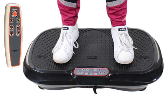 Fit Body - Toning and Double Vibration Machine