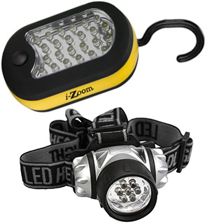 LED Worklight and Headlamp Combo - #7729