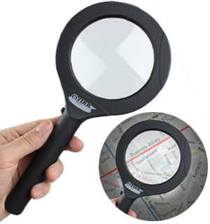Powerful 3x Magnifying Glass w/ Advanced COB Lighting