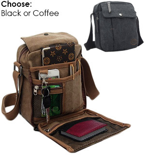 Valencia Unisex Canvas Traveling Bag