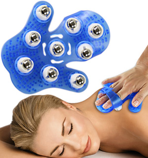 Roller Ball Massage Glove - #7763