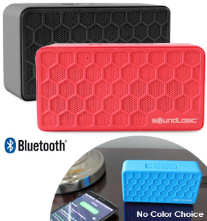 Bluetooth Mini Brick Speaker by SoundLogic - #7775