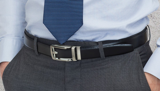 The Perfect Fit No-Hole Ratcheting Belt