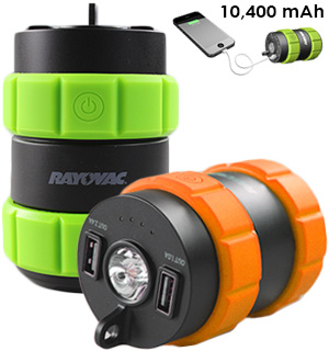 Adventurer Portable 10400mAh Power Bank by Rayovac - #7787