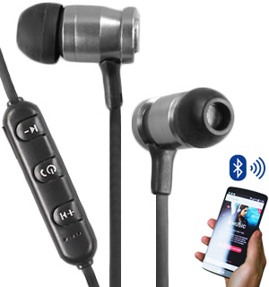 Wireless Magnetic Bluetooth Earbuds by SoundLogic - #7801