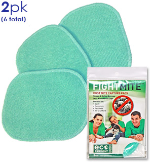 Fight Mite - Dust Mite Capture Pads 6 Pack - #7805A