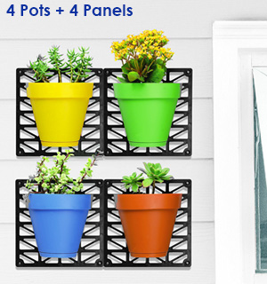 Wall Mount Planter Set - #7811