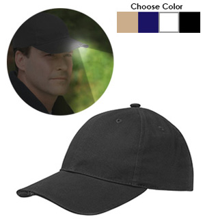 Nightlighter Flashlight Hat by Totes - #7822