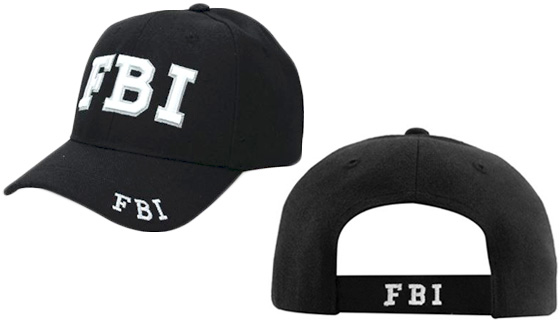 Law Enforcement Embroidered Hats