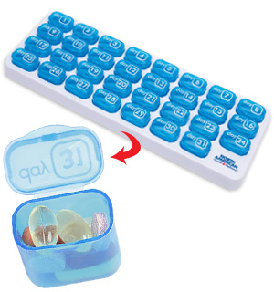 31 Day Pill Organizer - #7845