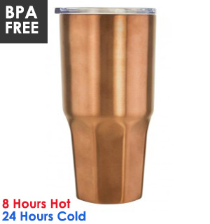 Mammoth LG Stainless Steel 20 oz. Travel Tumbler - #7865