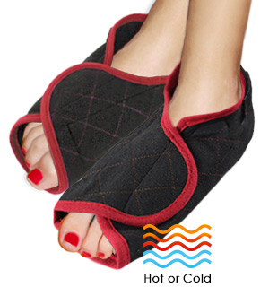 Hot/Cold Therapeutic Foot Wraps - #7878
