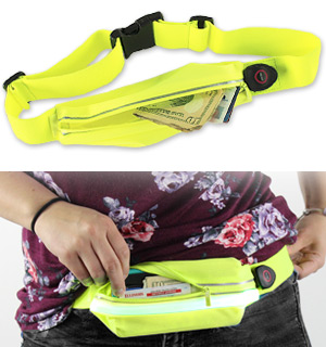 FitZip Illuminating Waist Pack - #7900
