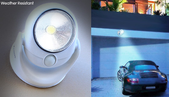 COB Wireless Safety Light with Light and Motion Sensors