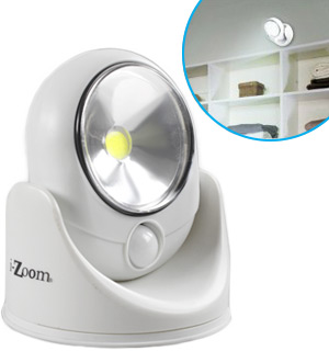 COB Wireless Safety Light with Light and Motion Sensors - #7915