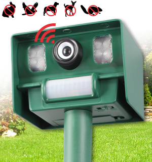Solar Yard and Garden Animal Repeller - #7933