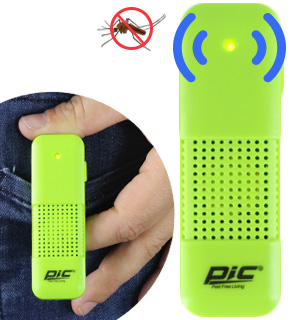 Personal Sonic Mosquito Repeller by PIC - #7940