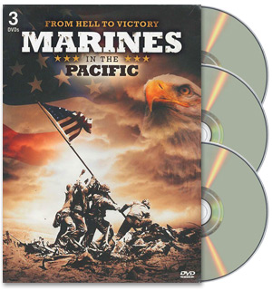 Marines In The Pacific 3 Disc DVD Collection - #7953